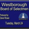 Board of Selectmen meeting – March 24, 2015