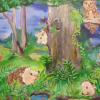 Hedgehog Mural Unveiling at Fales School – Sept. 2014