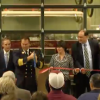 2 Major Ribbon-Cutting Events: Town Hall & Fire Station