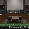Westborough Advisory Finance Committee – February 11, 2016