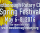 You won't want to miss it! May 6-8 Rotary Spring Festival