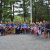 WHS Students & Veterans Emplace Flags at Cemeteries