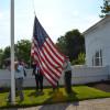 Flag Raising at PENTA Honors Veterans