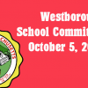 Westborough School Committee meeting – October 5, 2016