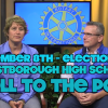 "Rotary Club's ""Roll to the Poll"""