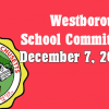 Westborough School Committee meeting – December 7, 2016