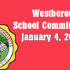 Westborough School Committee meeting – January 4, 2017