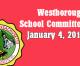 Westborough School Committee meeting – January 4, 2017