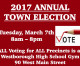 Town Election is Tues 3/7! Meet the Candidates