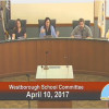 Westborough School Committee – April 10, 2017