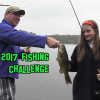 Westborough's Fishing Challenge on Sandra Pond