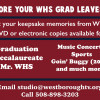 Before Your WHS Grad Leaves…