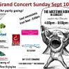 Grand Concert to follow 300th Parade!