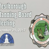 Westborough Planning Board Meeting – November 21, 2017