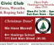 Civic Club Trees for Sale Starting Saturday!