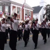 UMASS Band on March to Rose Bowl (via Westborough!)