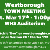 Annual Town Meeting Sat Mar 17!