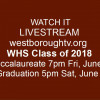 LIVESTREAM – WHS Graduation & Baccalaureate on westboroughtv.org