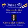 Corridor Nine: Ed Secy Peyser & Mini Grants 11-30-18