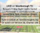 LIVE online & on WTV: WHS Rangers Friday Night Lights!