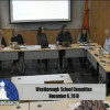 Westborough School Committee Meeting – November 6, 2018