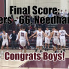 Boys Varsity Basketball: OT Win vs Needham 1-17-19