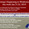 Government Meetings This Week in Westborough: January 21 – 25, 2019