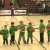 Rec Dept Lil Dribblers Entertain the Crowd!