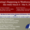 Government Meetings This Week in Westborough: March 4 – 8, 2019