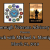 Veterans Lunch with Author Mike Montigny – 3/21/19