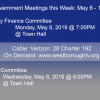 Government Meetings This Week in Westborough: May 6 – 10, 2019