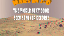 Mysterious Mars in 3D!