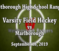 WHS Field Hockey vs Marlborough