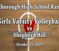 Volleyball Senior Night Win!