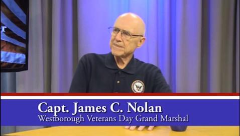 Veterans Corner – Capt. James Nolan – Veterans Day Grand Marshal