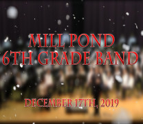 Winter Concerts at Mill Pond this Past Week