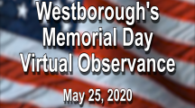 Westborough's Memorial Day Tribute Video