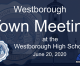 Westborough Town Meeting LIVE