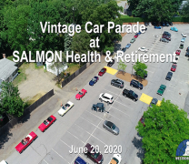 Antique Car Parade at SALMON Health & Retirement