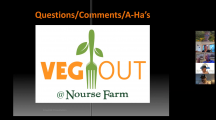 Krosslink Virtual Meeting – Veg Out