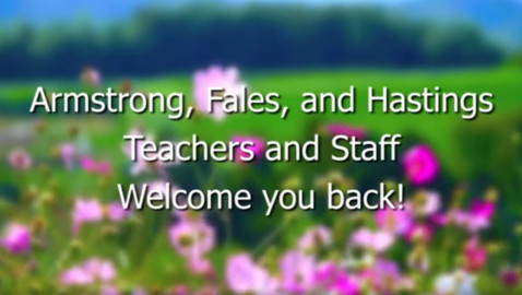 Westborough K-3 Schools Welcome Back Videos – 2020