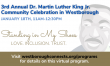 Register Today: Westborough's 3rd Annual Dr. Martin Luther King, Jr. Community Celebration