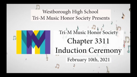 Tri-M Honor Society Induction 2021