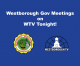 Gov Meetings Tonight on WTV 3-9-21