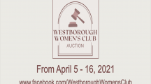 Westborough Women's Club 1st Online Auction!