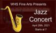 WHS Jazz Ensembles – Finally a Concert!