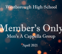 Member's Only – WHS A Cappella