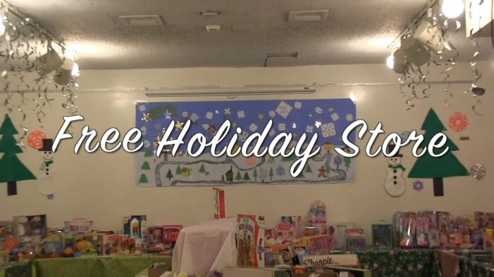 Westborough Youth and Family Services and the Rotary Club put on the Free Holiday Store 2014.