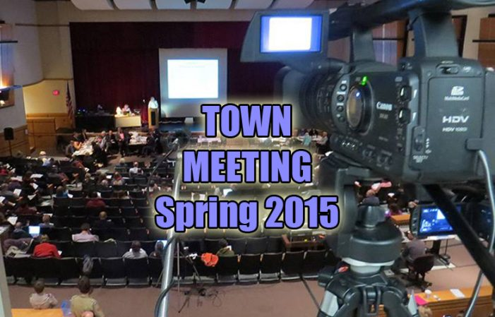 Westborough Town Meeting – March 14, 2015