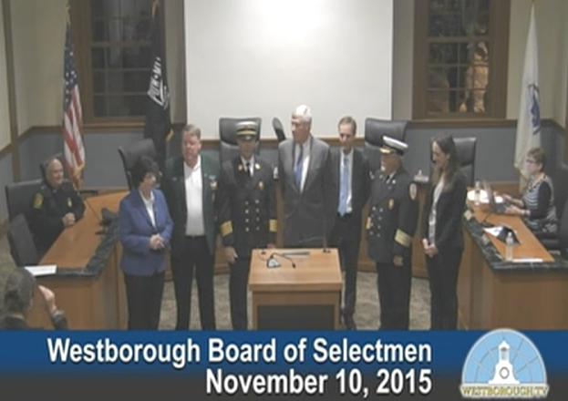 New Fire Chief Patrick Purcell Sworn In